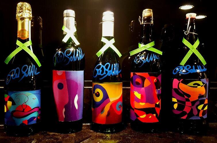 Label designs by R.O.Schabbach